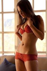 Dani Daniels in Red