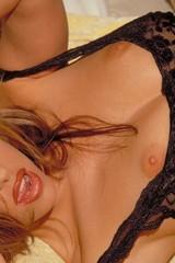 Cassia Riley lingerie strip - 05