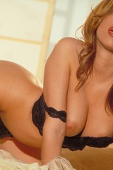 Cassia Riley lingerie strip - 12