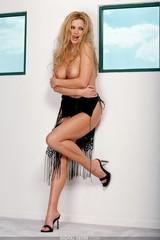 Victoria Zdrok pulls off her panties