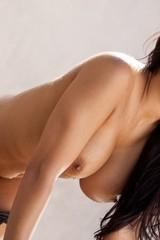 Danni Kalifornia gets naked