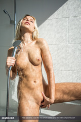 Lara Takes A Steamy Shower