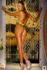 Amy Cobb Bares All In Playboy
