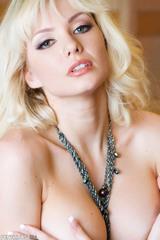 Superb blonde Margo Russo