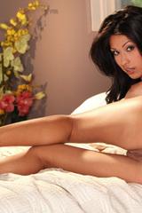 Sexy brunette Jasmine Foxx