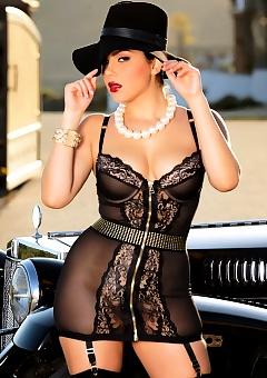 Valentina Nappi In Black Lace