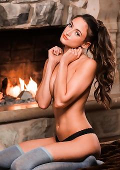 Fireside Nudity